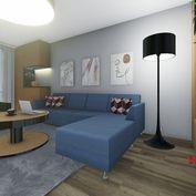 NÁJOM 2 Izbového bytu v Ružomberku, Nábrežie M. R. Štefánika