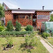 Veľká záhrada s chatkou na predaj blízko Popradu