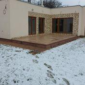 Predáme nový bunglov pri KE v obci Čaňa s pozemkom 537m2