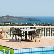 Vila s bazénem a fantastickým výhledem na moře, Kréta, Řecko