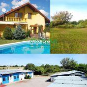 Rodinný dom,výrobný objekt/hala na jednom pozemku 8663 m2 ID 130-12-MIG