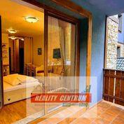 Zabehnuté apartmány v krásnom horskom hotelovom komplexe pod Malinom Brdom