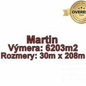 MARTIN - Podháj, pozemok 6203 m2