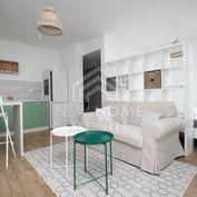 NIVY biznis zóna - 1 iz. byt,  BALKÓN, parking v garáži, pekný výhľad