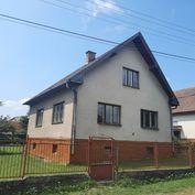 Rodinný dom s južne orientovaným pozemkom 600 m2, Bystrička.