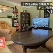 Predaj: 3-izbový byt, Prievidza, Staré Sídlisko