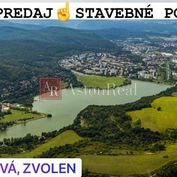 Predaj: 5 stavebných pozemkov Zvolen - Môťová (od 400m2 - 600m2)