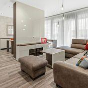 HERRYS - Na predaj krásny svetlý 3 izbový byt s dvoma lodžiami zariadený na kľuč v novostavbe v cent