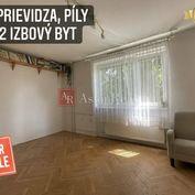 Predaj: 2 izbový byt, Prievidza, Staré Sídlisko