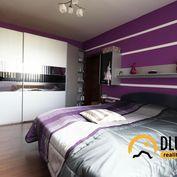 Na predaj 3 izbový byt s balkónom, slnečný, kompletne zariadený, Poprad, Nový Juh