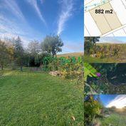 Pozemok pod Zoborom 882 m2 (vhodné ako investícia) ID 277-14-MIGa