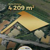 Lukratívny 42 árový stavebný pozemok pre rodinné domy