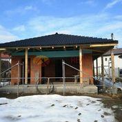 Novostavba rodinného domu typu Bungalov - Svederník
