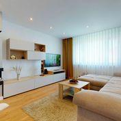 Štýlový 3izb byt s výhľadom na HRAD – Belinského / PETRŽALKA