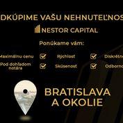 Odkúpime 1-izbový byt, garzónku  do 100% hodnoty v Bratislavskom kraji