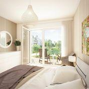 HERRYS - Na predaj 1,5 izbový byt s balkónom v projekte Nový Ružinov