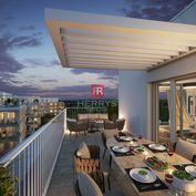 HERRYS - Na predaj 3 izbový byt s terasou a predzáhradkou v projekte Nový Ružinov