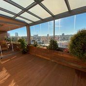 Predám slnečný 5 izbový byt s terasou a  výhľadom.