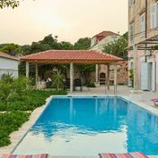 Apartmán s bazénem a výhledem na moře, Dubrovník, Chorvatsko