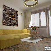 REZERVOVANÉ- 1-izbový byt s loggiou v centre mesta, Ludmanská