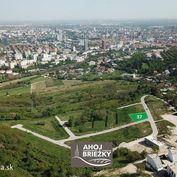 KOLIBA-AHOJ 675 m2 lukratívny stavebný pozemok s výhľadom na mesto
