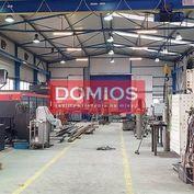 Predaj výrob. priestorov (2x hala, žeriav, admin., poz. 3.000 m2)