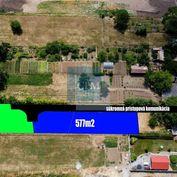 Predaj, pozemky 578 a 577m2 Alekšince, okr. Nitra