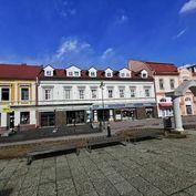 Ponúkame na prenájom obchodné priestory v centre Popradu