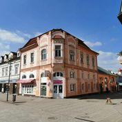 Predám historickú budovu na námestí v Poprade