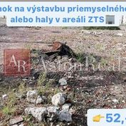 Predaj: pozemok na výstavbu haly alebo priemyselného objektu v ZTS