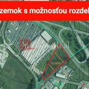Komerčný stavebný pozemok Poprad od 3000 m2