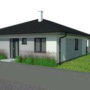 Moderná novostavba 4izbového bungalovu so zeleňou v Hrubej Borši
