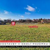Stavebný pozemok 1449 m2, Bojničky, Hlohovec