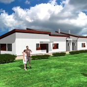 Rodinné domy 157m2 s pozemkom - projekt s výstavbou na kľúč, Prečín, okr. Pov. Bystrica