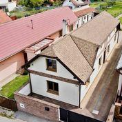 Na predaj rodinný dom so záhradným domom - obec Rosina