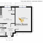 Exkluzívne!!! Veľký 1 izbový byt v obľúbenej lokalite na Triede SNP na predaj
