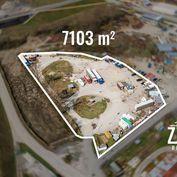 NA PREDAJ   Komerčný pozemok 7100m2-Trenčín