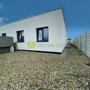Na predaj 4 izbový bungalov, novostavba  v obci Čaňa - 3D obhliadka!