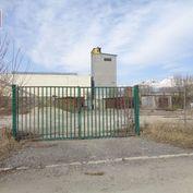 Prenájom Poprad,ul.Partizánska, skladovacia plocha 648 m2.