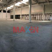 Prenájom: *MAXEN*, Skladovo - obchodný priestor, hala na prízemí, 1725 m2, Areál Južná tr., Košice I