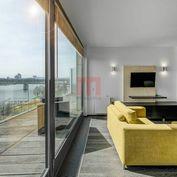 Na prenájom jedinečný 2 izbový byt s terasou s výhľadom na Dunaj v EUROVEA