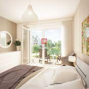 HERRYS - Na predaj 2 izbový apartmán s balkónom v projekte Nový Ružinov
