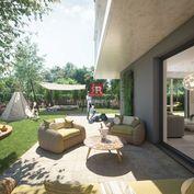 HERRYS - Na predaj 5 izbový byt s terasou a predzáhradkou v projekte Nový Ružinov