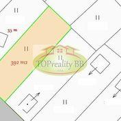 Predaj záhrady s pozemkom o výmere 392 m2,  nad Tulskou na Fončorde v Banskej Bystrici – cena – 19 0