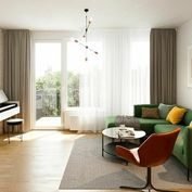 NOVÉ ZLATOVCE - B1.1 / 3-izbový byt, 75 m2, balkón, 1. poschodie/4., NOVOSTAVBA.