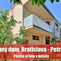 Priestranný dom na bývanie i podnikanie, Bratislava - Petržalka
