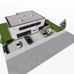 Milebyvanie.sk III. Etapa - 4 izb. mezonet so záhradou -  štandard, 2 x parkovanie v cene - dom Z