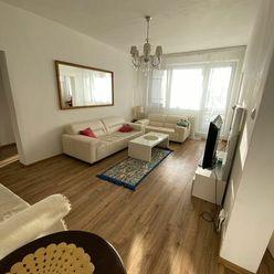 Exkluzívne na prenájom 3 izbový byt, 83m2, 2x loggia 4,5m2, Karolovka, Janotová 8