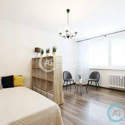 AG reality I na predaj - slnečný a komplet zariadený 1 izbový byt s príjemnou atmosférou v Dúbravke