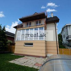 6-izb. rodinný dom s bazénom na bývanie aj podnikanie - Bratislava III. Kramáre